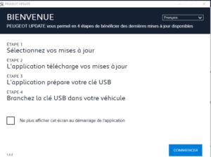 Peugeot Update - Maj processus