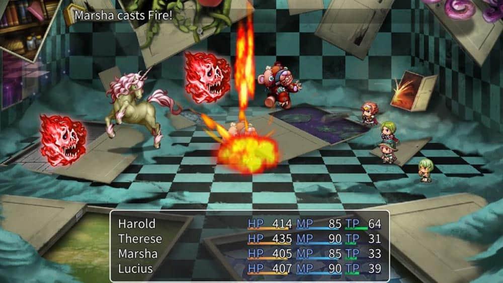 Test de RPG Maker sur Nintendo Switch