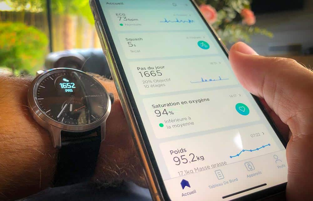 L'application Health Mate toujours aussi efficace