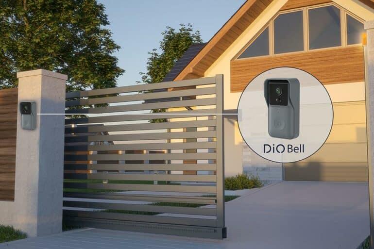 DiO dévoile DIOBELL, son interphone connecté 100% sans-fil