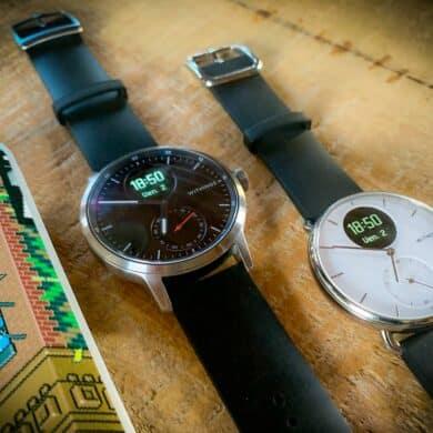 Test de la montre connectée hybride ScanWatch de Withings