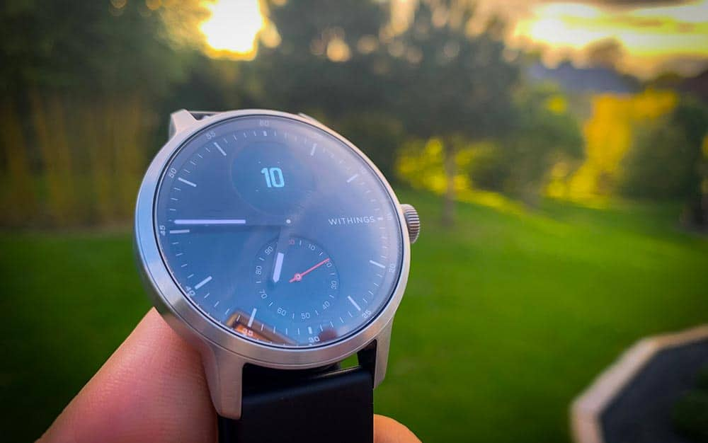 Test de la montre connectée hybride ScanWatch de Withings