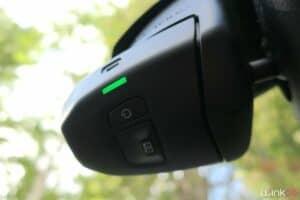 Citroën ConnectedCAM - deux boutons pour l'allumage et la prise de photos