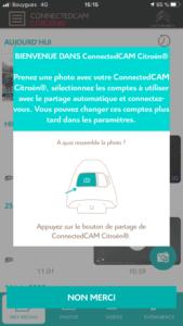 Citroën ConnectedCAM - Didacticiel prise de vue photo