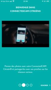 Citroën ConnectedCAM - Didacticiel Réseaux sociaux