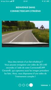 Citroën ConnectedCAM - Didacticiel explications