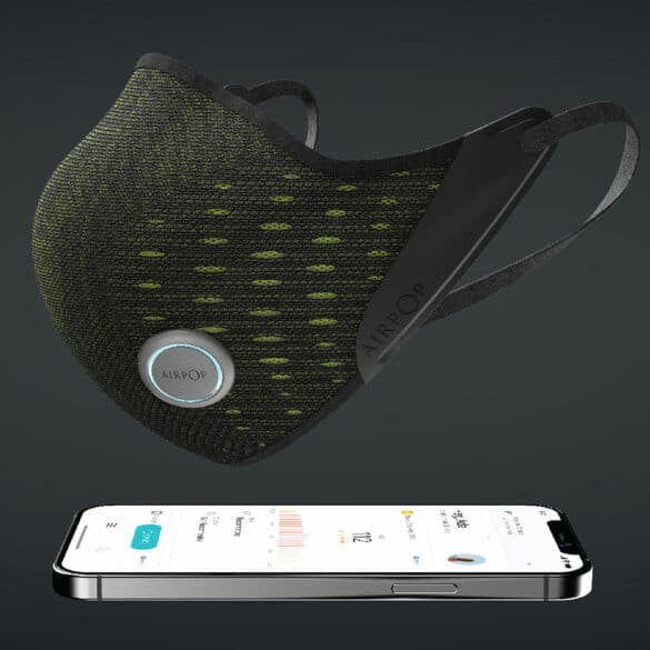AirPop Active+, le masque confort et intelligent