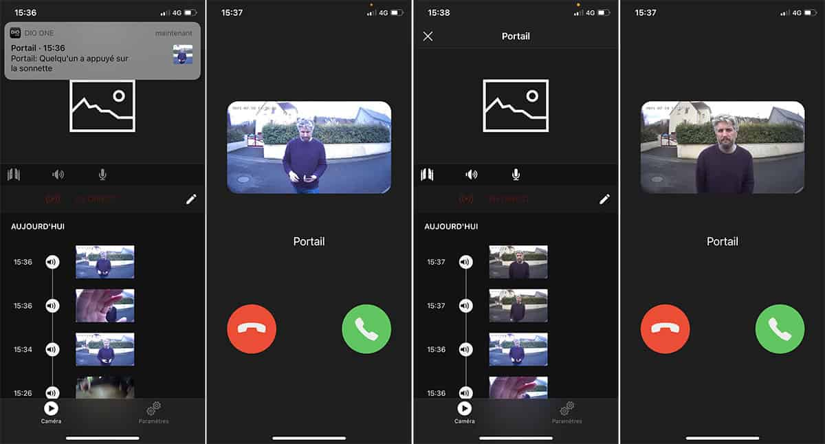 Application mobile DiO One
