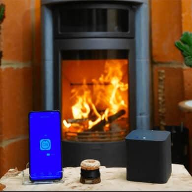 Flam'connect : Allumez votre poêle à bois à distance