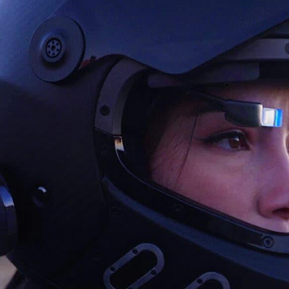 EyeRide : Sécurisez vos trajets moto avec cet afficheur tête haute