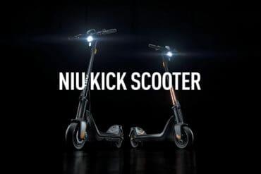 NIU Technologies dévoile sa première trottinette électrique