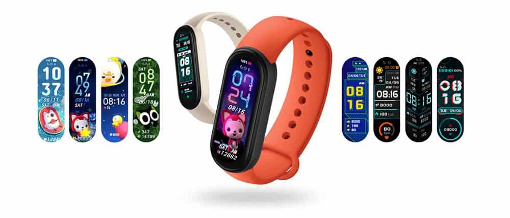 Le bracelet connecté Mi Smart Band 6
