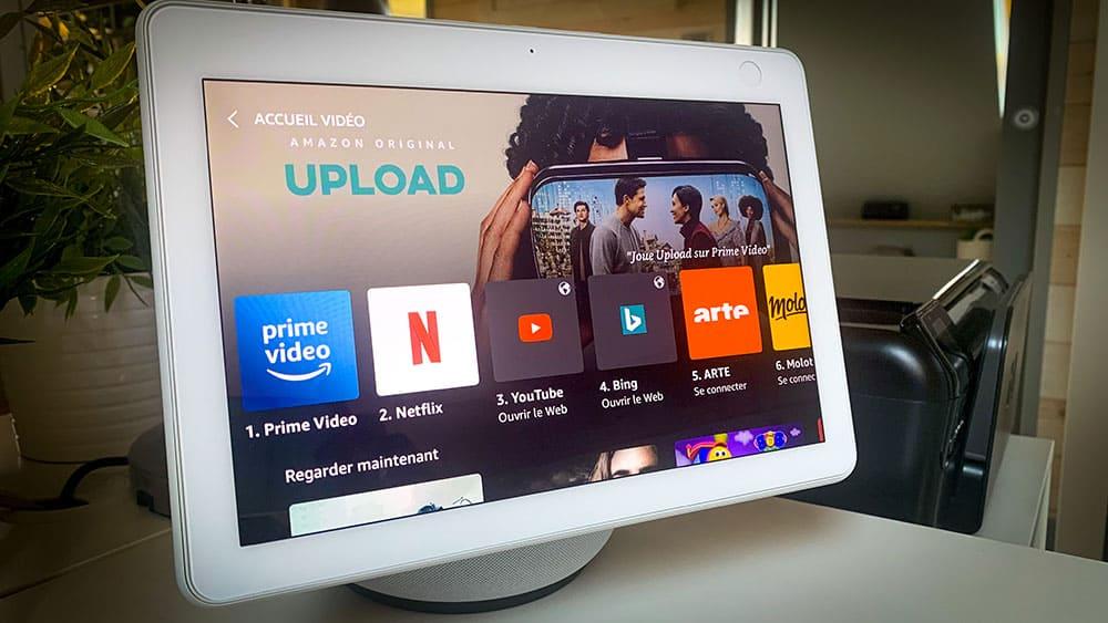 Test de l'Echo Show 10, la nouvelle enceinte doté d'un écran d'Amazon