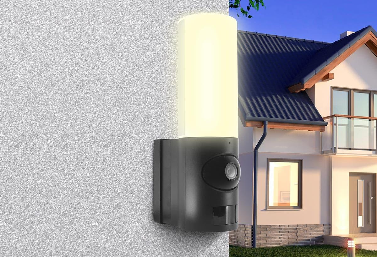 HomeCam Spotlight : Avidsen met en lumière sa nouvelle caméra connectée exterieure