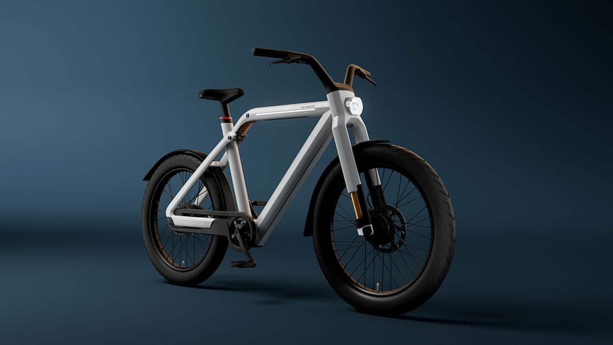 VanMoof dévoile son tout premier Speedbike, le VanMoof V